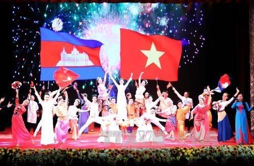 Le Vietnam et le Cambodge celebrent les 50 ans de leurs relations diplomatiques hinh anh 3