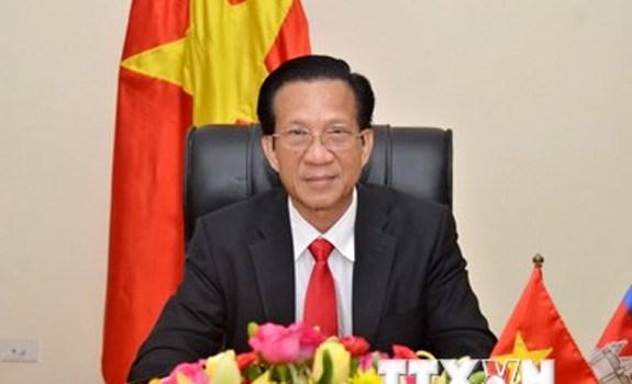 Le Vietnam prend en haute consideration le developpement des relations avec le Cambodge hinh anh 1
