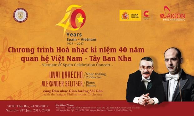 Un concert celebre les relations Vietnam-Espagne hinh anh 1