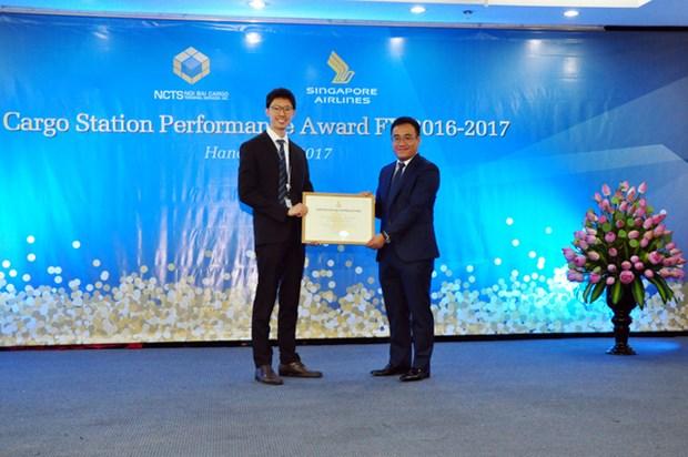 Vietnam Airlines recoit des prix regionaux pour la haute qualite de ses services aeroportuaires hinh anh 1