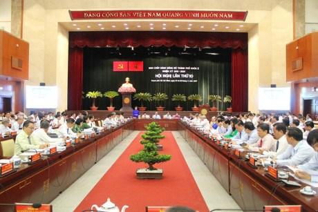 Ouverture de la 10e Conference du Comite du Parti pour HCM-Ville (10e mandat) hinh anh 1