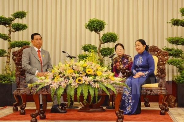 Ho Chi Minh-Ville promeut le travail du Front avec le Cambodge hinh anh 1