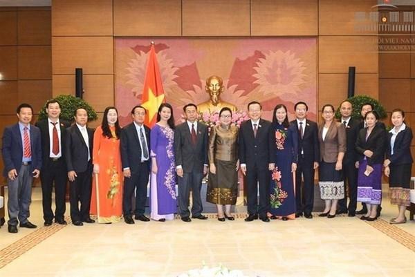 Vietnam et Laos resserrent leurs relations dans la justice hinh anh 1