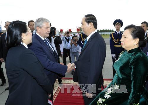 Vietnam et Bielorussie disposent des potentiels pour approfondir leur relations de cooperation hinh anh 1