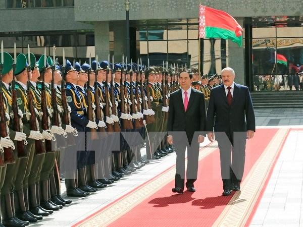 Vietnam et Bielorussie ciblent 500 millions de dollars dans le commerce bilateral hinh anh 1