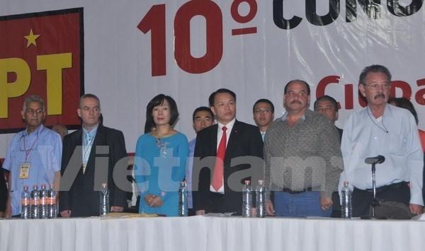 Renforcement de la cooperation entre le PCV et le Parti du travail du Mexique hinh anh 1