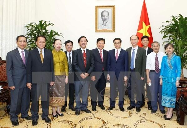 Le Vietnam et le Laos promeuvent leur cooperation dans la sante hinh anh 1