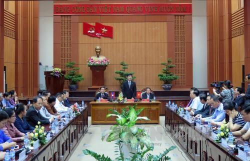 Quang Nam renforce la cooperation avec des localites laotiennes hinh anh 1
