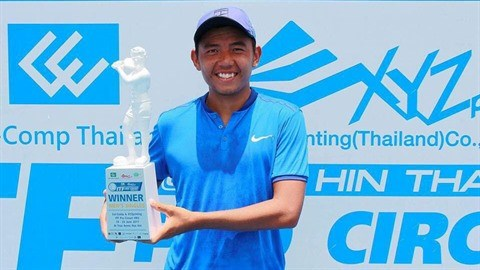 Tennis : Ly Hoang Nam, champion en simple messieurs au tournoi F3 Futures en Thailande hinh anh 1