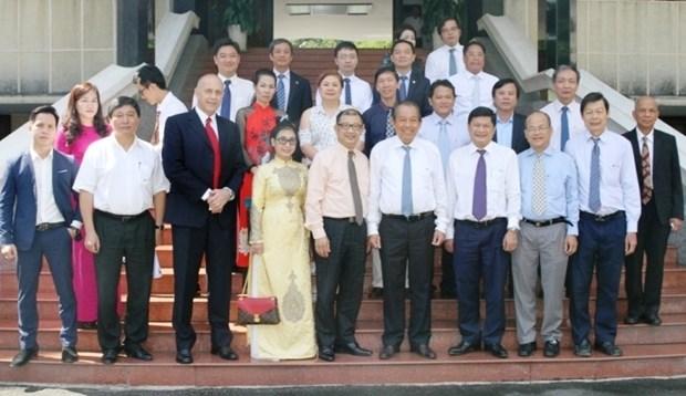 Les contributions des hommes d'affaires vietnamiens en Australie sont tres importantes hinh anh 1