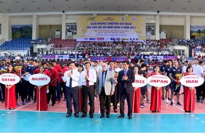 Ouverture du Championnat d'Asie des clubs de volley-ball masculin hinh anh 1