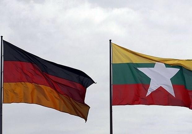 Myanmar et Allemagne s'engagent a renforcer la cooperation dans la defense hinh anh 1