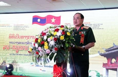Ouverture de la foire commerciale Vietnam-Laos hinh anh 1