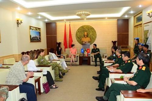 L'ONU place de la confiance dans les forces vietnamiennes de maintien de la paix hinh anh 1