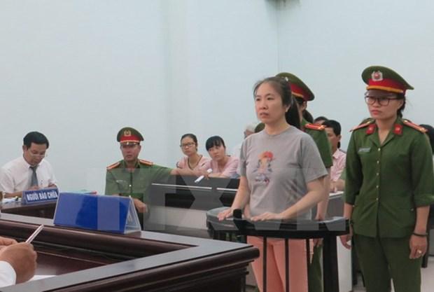 Une femme condamnee a dix ans de prison ferme pour propagande contre l'Etat hinh anh 1