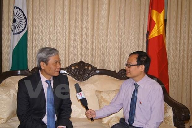 Le Vietnam et l'Inde elargissent leur cooperation dans divers domaines hinh anh 1