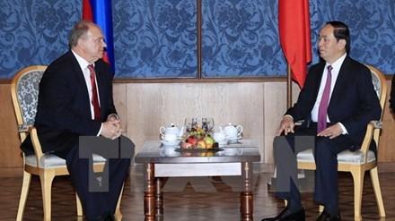 Renforcer la cooperation entre les deux Partis communistes vietnamien et russe hinh anh 1