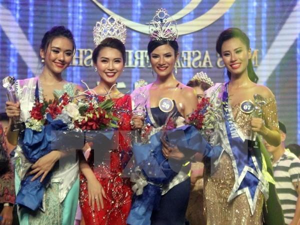La Thailandaise Nuttanan Naree sacree Miss ASEAN Friendship 2017 hinh anh 1