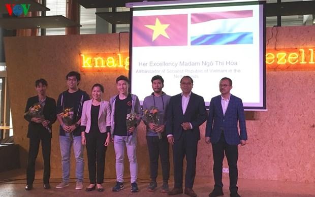 Le premier Congres sportif des etudiants d'Asie du Sud-Est aux Pays-Bas hinh anh 1