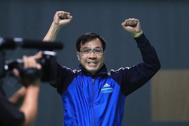 Hoang Xuan Vinh, meilleur tireur du monde au tir au pistolet a air comprime a 10 m hinh anh 1