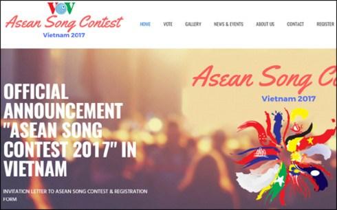 Concours de chant de l'ASEAN 2017 au Vietnam hinh anh 1