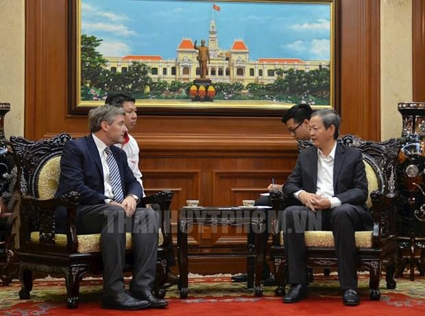 Ho Chi Minh-Ville soutient Siam Cement dans la fabrication de materiaux de construction verts hinh anh 1