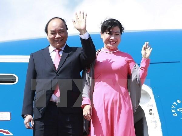 La visite du PM vietnamien en Allemagne pour transmettre un message sur le Vietnam dynamique hinh anh 1