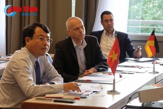 Les entreprises du Land allemand de Hesse invitees a venir a Ha Tinh hinh anh 1