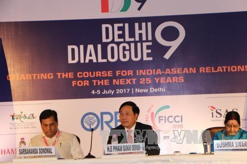 Le Vietnam a la table ronde des entreprises vietnamiennes et indiennes a New Delhi hinh anh 1