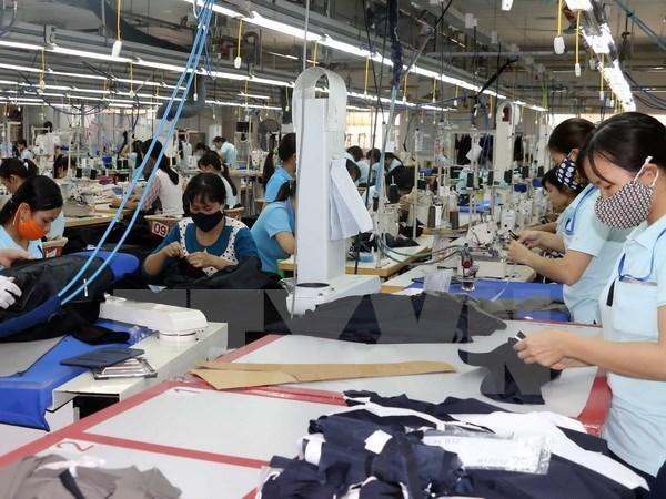 La croissance des exportations du secteur textile reste volatile hinh anh 1