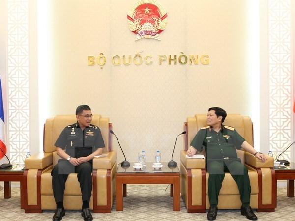 Pour promouvoir la cooperation dans la defense Vietnam-Thailande hinh anh 1