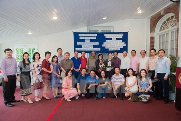 Echange d'amitie entre les ambassades du Vietnam et du Laos aux Etats-Unis hinh anh 1
