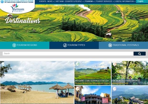Renforcement de la promotion du tourisme du Vietnam sur internet hinh anh 1