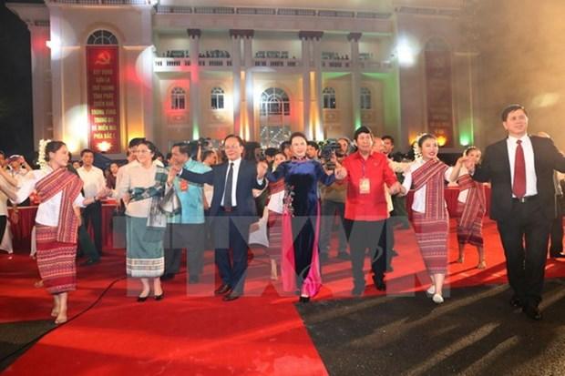 Ouverture du 2e Festival culturel, sportif et touristique Vietnam-Laos hinh anh 1