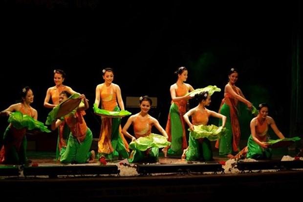 Le Vietnam se produit au Festival du folklore mondial hinh anh 1