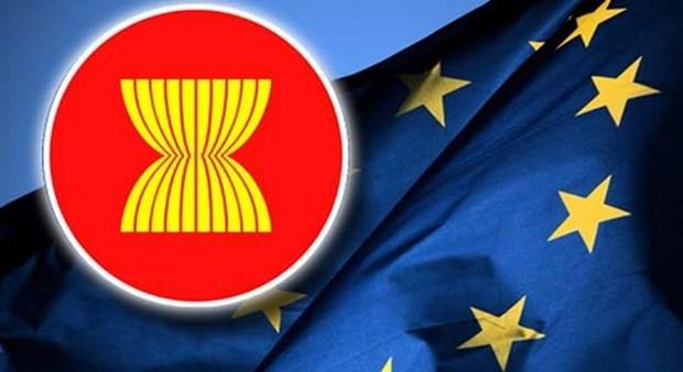Le Vietnam affirme la haute consideration des relations ASEAN-Union europeenne hinh anh 1