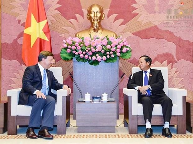 Le Vietnam souhaite approfondir le partenariat integral avec les Etats-Unis hinh anh 1
