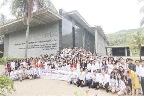 C'est parti pour l'Ecole d'ete des sciences a Quy Nhon ! hinh anh 2