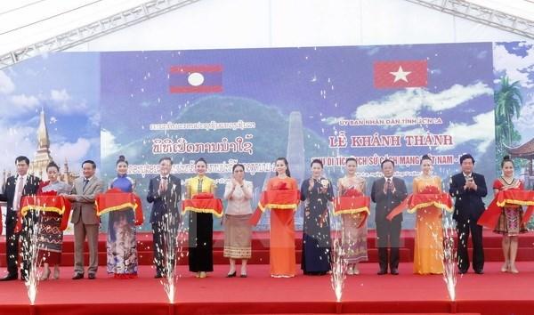 Inauguration du vestige historique Vietnam-Laos hinh anh 1