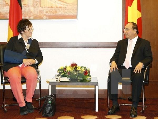 Vietnam et Allemagne souhaitent renforcer la cooperation economique et commerciale hinh anh 1