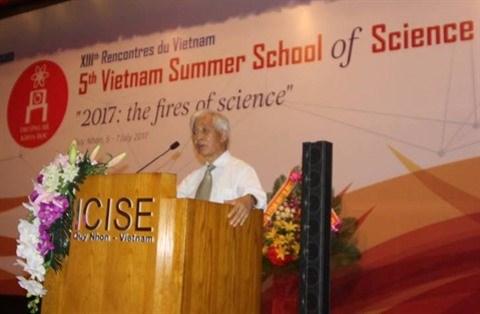 C'est parti pour l'Ecole d'ete des sciences a Quy Nhon ! hinh anh 1