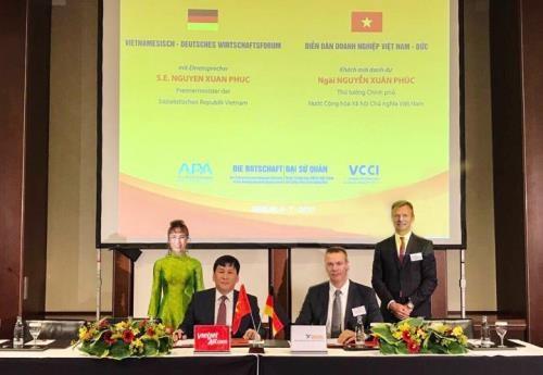 Vietjet Air signe un accord financier avec le groupe allemand GOAL hinh anh 1
