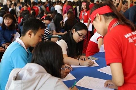 Plus de 1.200 donneurs de sang ont repondu presents a la campagne hinh anh 1
