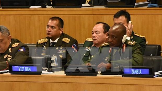 ONU: Le Vietnam a la Conference des chefs de la defense sur les operations de maintien de la paix hinh anh 1