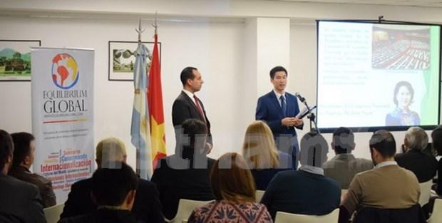 Promouvoir les images du Vietnam en Argentine hinh anh 1