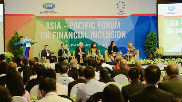 APEC: ouverture du 7eme forum annuel sur la finance integrale hinh anh 1