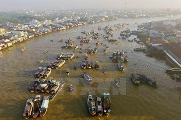 Festival de la culture du marche flottant de Cai Rang hinh anh 1