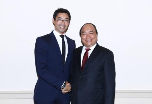 Le Premier ministre Nguyen Xuan Phuc rencontre des investisseurs neerlandais hinh anh 2
