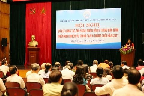 La HAUFO : «passerelle» d'amitie entre Hanoi et le monde hinh anh 1