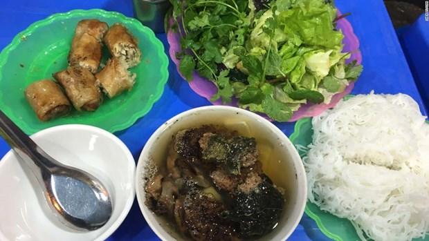 Les dix plats de rue du Vietnam vantes par CNN hinh anh 1